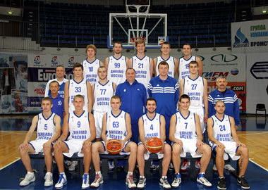 баскетбольная клуб динамо москва